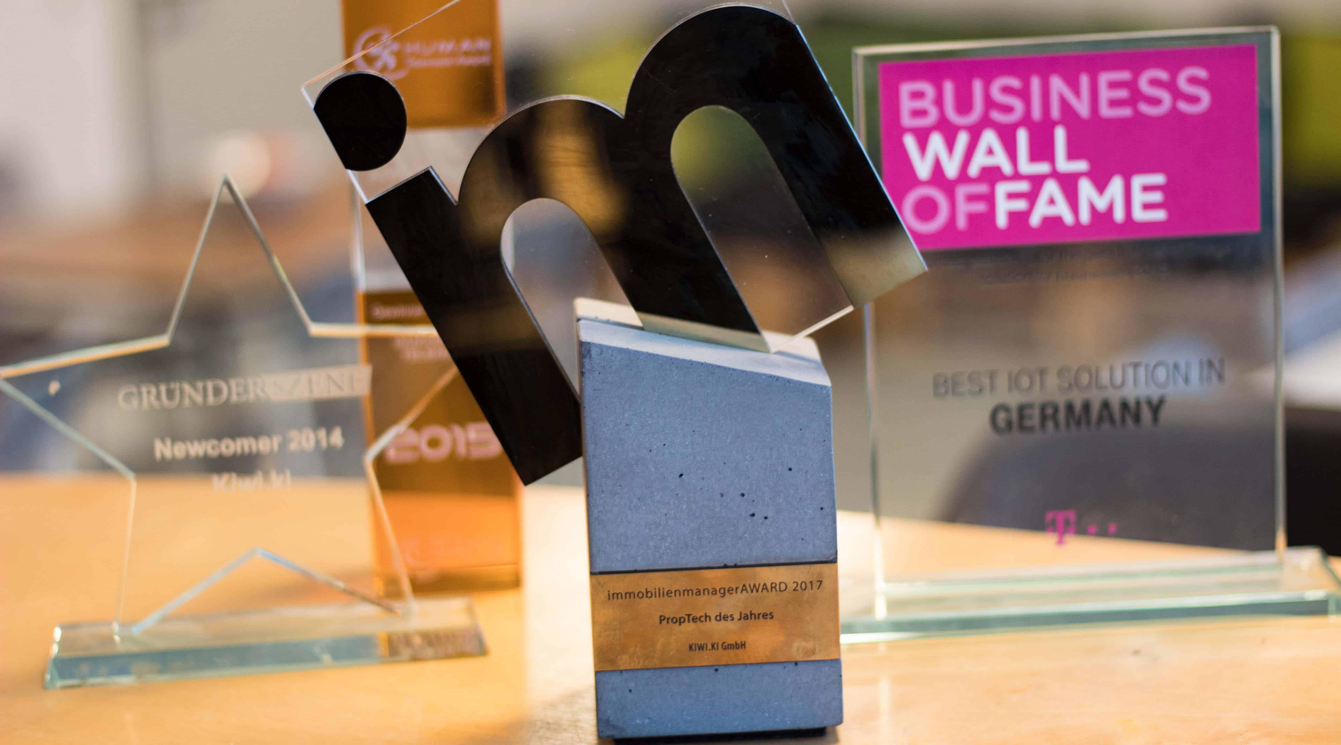 Awards für Wohnungsunternehmen