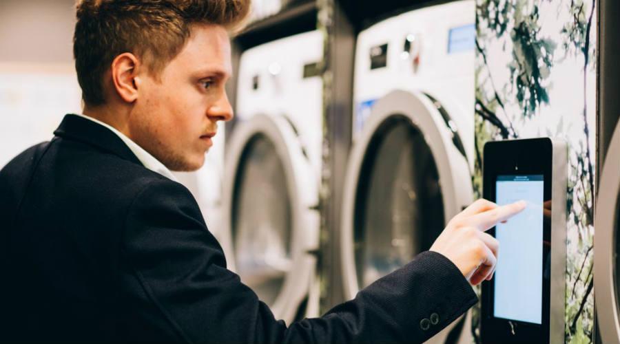 WeWash Digitale Waschküche