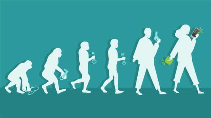 Evolution des Schlüssels