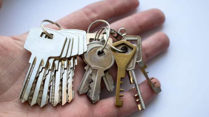 Schlüssel Desinfizierung